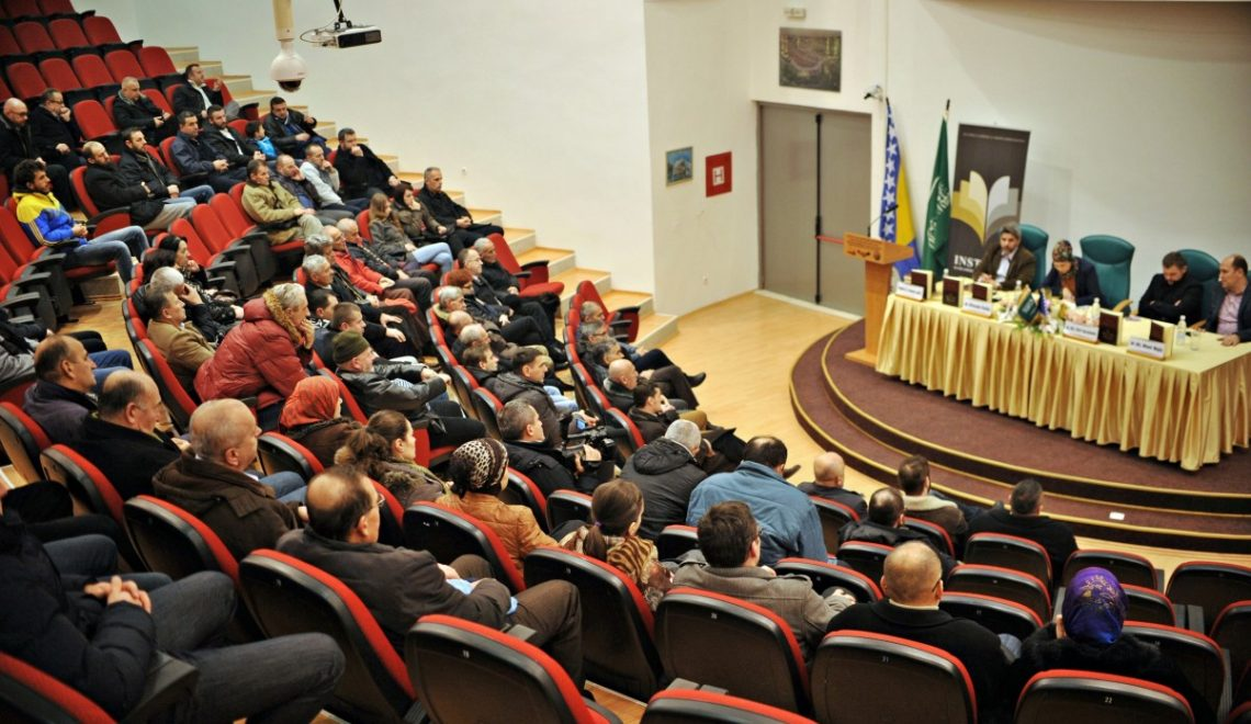 HASAN KAFI PRUŠČAK BOOK PROMOTION IN BUGOJNO