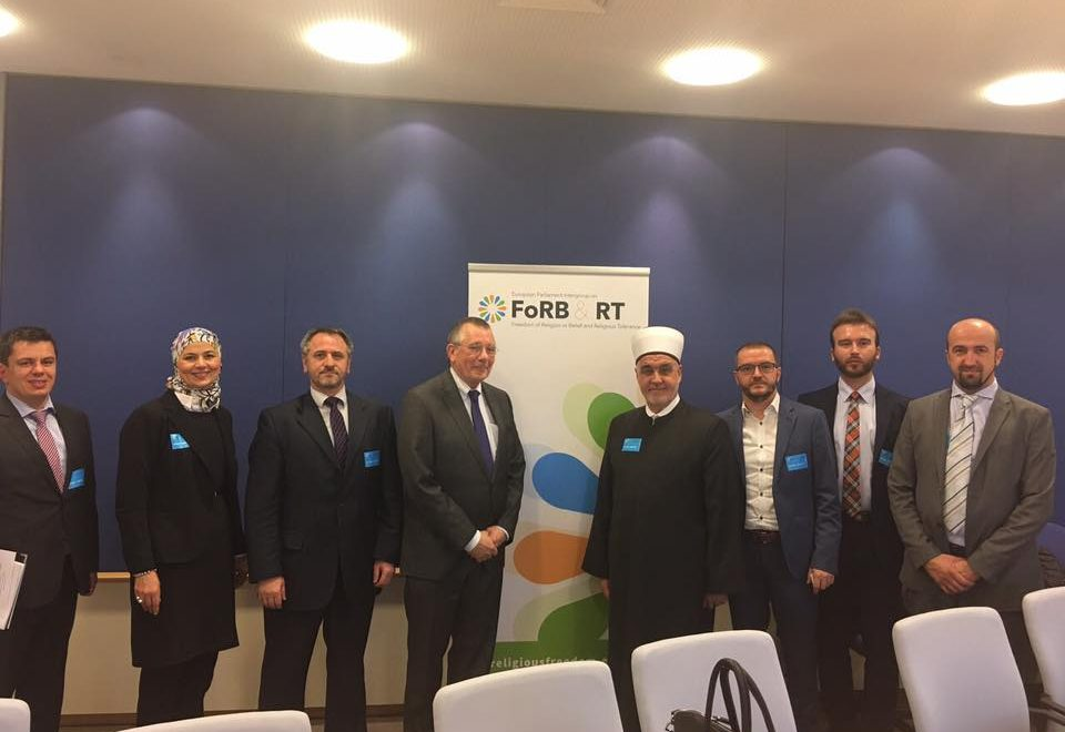 Institute Director was a Islamic Community delegation member visiting EU Institutions