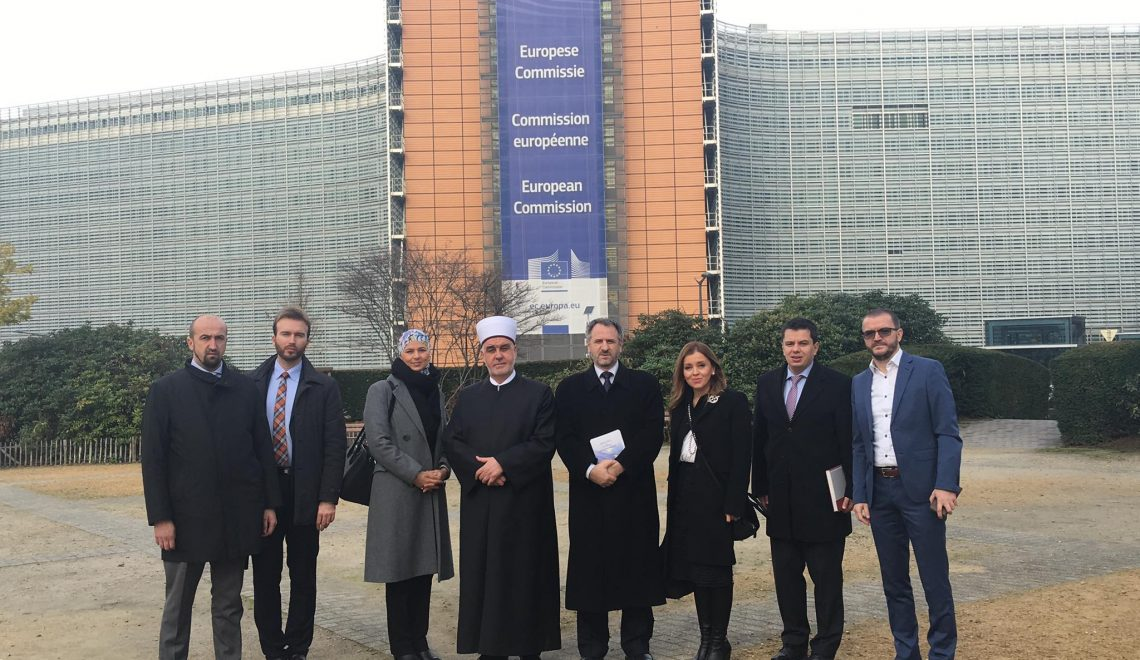 Institute Director was a Islamic Community delegation member visiting EU Institutions