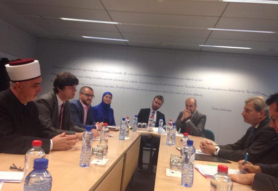 Direktorica Instituta kao član delegacije Islamske zajednice u posjeti institucijama EU