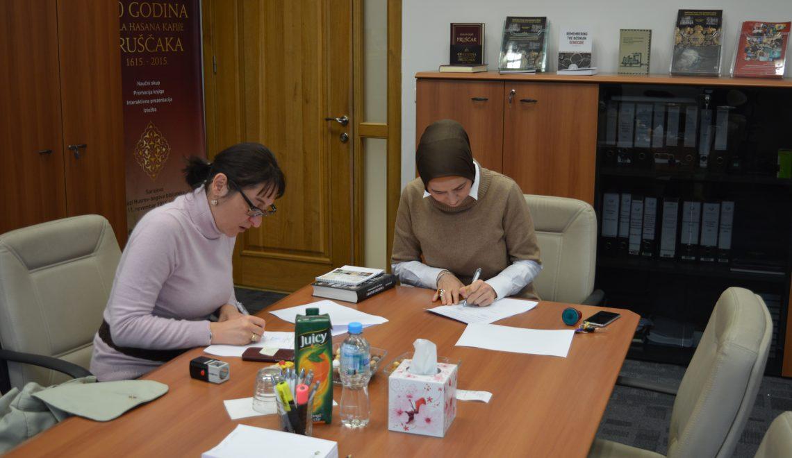 Direktorica Bošnjačkog instituta u posjeti IITB