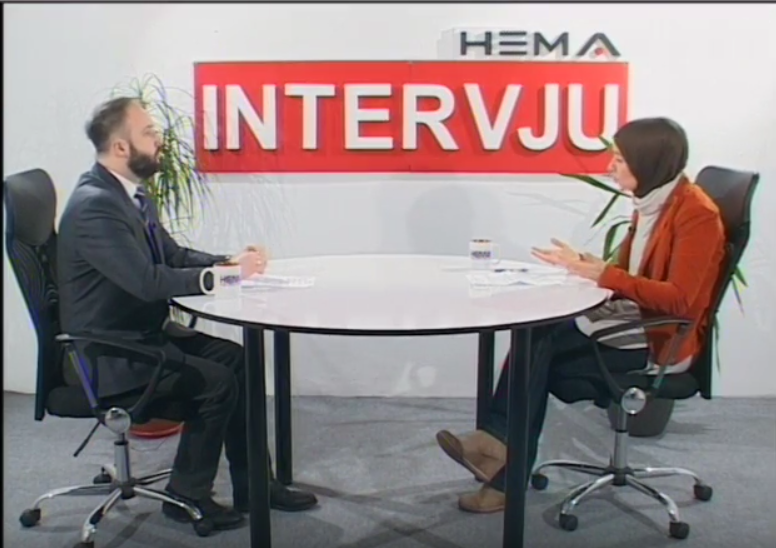 Dr. Dževada Šuško gost na HEMA TV
