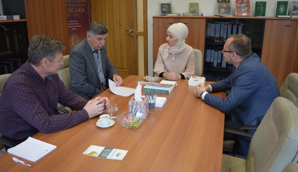 Muftijstvo mostarsko u posjeti Institutu za islamsku tradiciju Bošnjaka