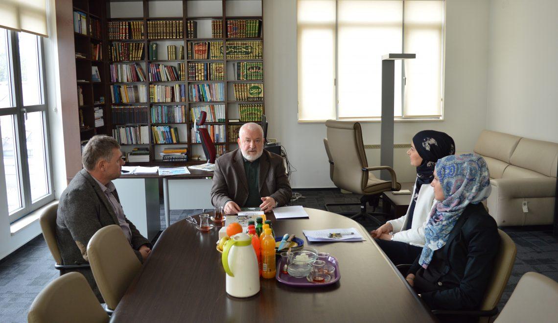 Institut za islamsku tradiciju Bošnjaka u radnoj posjeti dr. Mustafi Ceriću, bivšem reisu-l-ulemi IZ u BiH