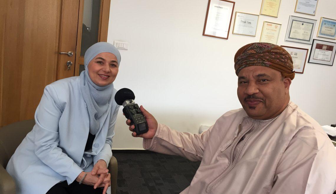 Novinar iz Omana Hilal Salem al-Hilali u posjeti Institutu