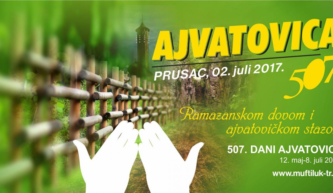 "Institut na manifestaciji 507. ""Dani Ajvatovice 2017"""