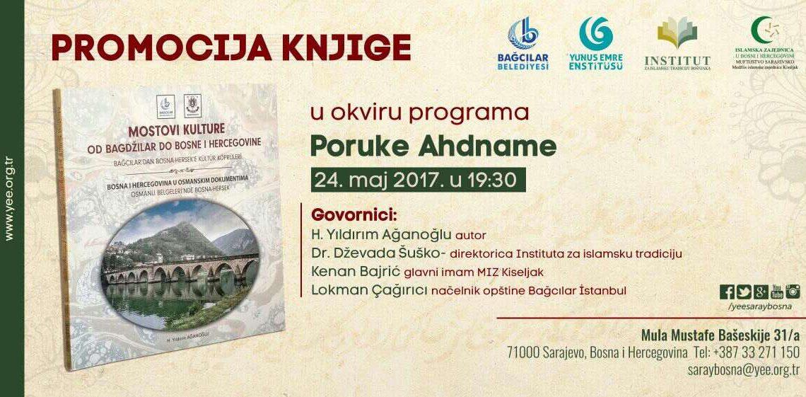 """Promocija knjige """"Mostovi kulture: od Bagdžilar do Bosne i Hercegovine"""""""