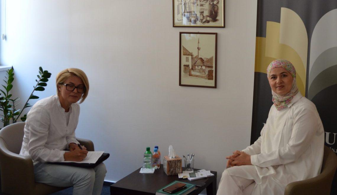 Doktorant Amina Selimović u posjeti Institutu