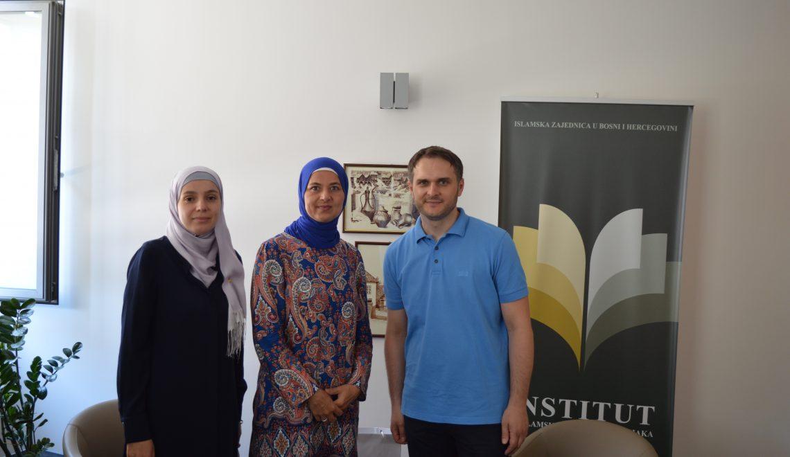 Said Topalović i Aida Tuhčić u posjeti Institutu