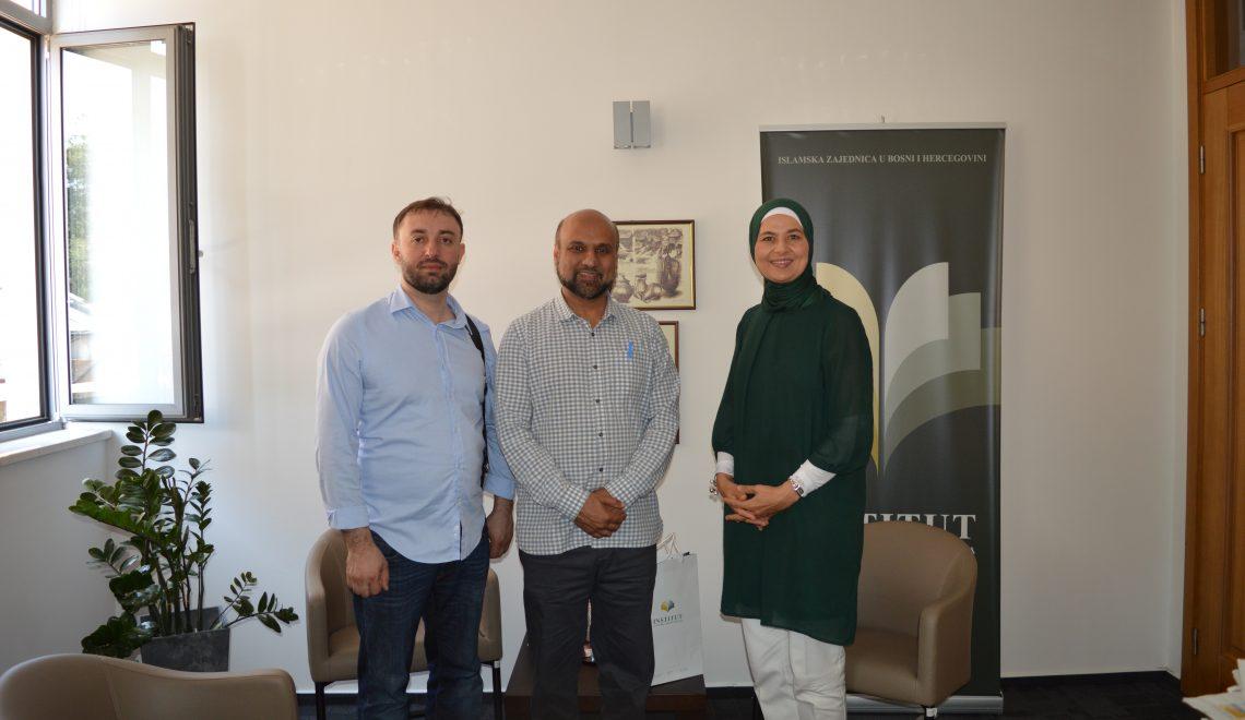 Direktor Islamske fondacije Markfield, Farook Murad i dr. Alija Avdukić boravili u posjeti Institutu