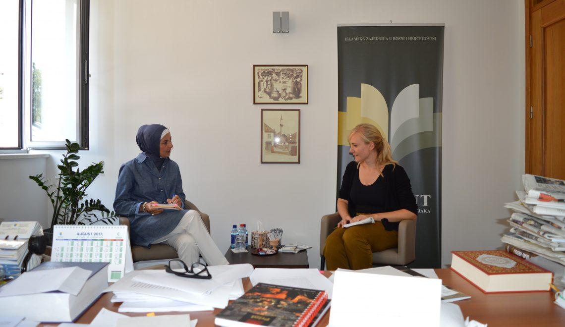 """Stefanie Kleierl piše disertaciju na temu: """"Islamska tradicija Bošnjaka kao most međureligijskog dijaloga u Njemačkoj"""""""