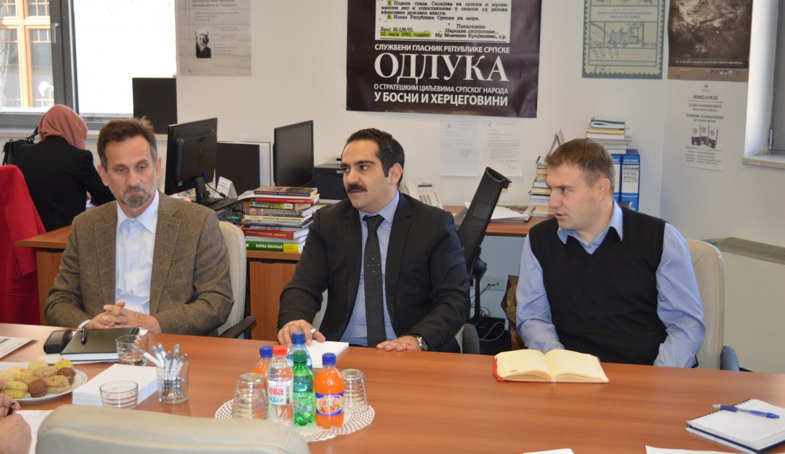 """Radni sastanak u Institutu o naučnoj konferenciji """"Islamska tradicija Bošnjaka na razmeđu stoljeća: izazovi i odgovori"""""""