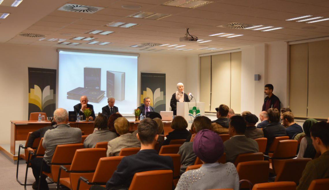 """Održana promocija knjige """"Milivoj Mirza Malić i Fevzijev Bulbulistan na Univerzitetu Sorbonne"""""""