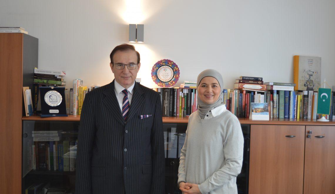 Prof.dr. Adamir Jerković u posjeti Institutu
