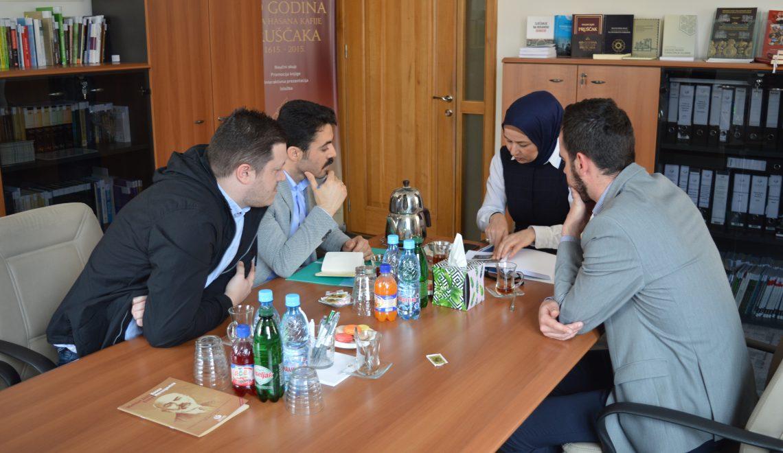 Sastanak sa predstavnicima Instituta Yunus Emre